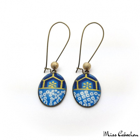 Dangle earrings - Japanese inspiration