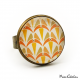 Bague - Collection Art déco - Camaïeu de oranges