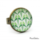 Ring - Art deco collection - Shades of green