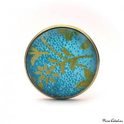 Bijou japonais turquoise