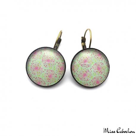 Drop leverback earrings