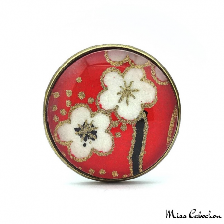 Bague Fleurs japonaises