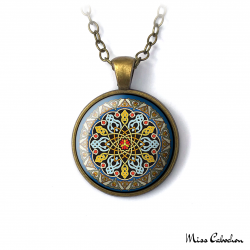 "Necklace ""Persian patterns"""