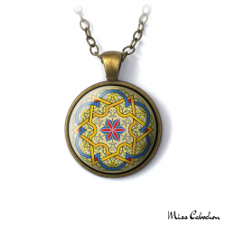 "Collier ""Arabesque persique"""