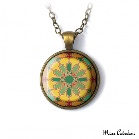 "Necklace ""Arab mosaic"""