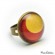 Rust and Gold ring