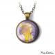 "Art Deco Necklace ""Bizantine heads"""