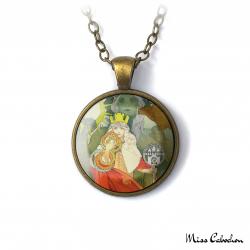 """Art Nouveau Necklace """"Sokol Festival"""""""