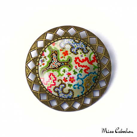 "Brooch ""Arabesque"""