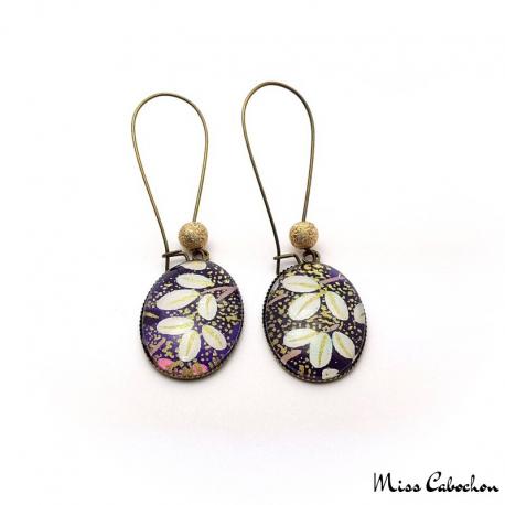Dangle earrings - Japanese inspiration