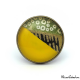 Japanese sytle ring - Yellow, green and gold