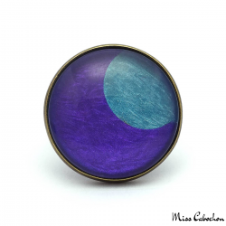 Bague Fantaisie - Lune Bleue
