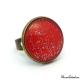 Glitter red ring