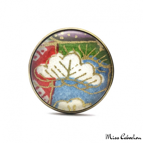 Japanese jewelry - Cabochon ring