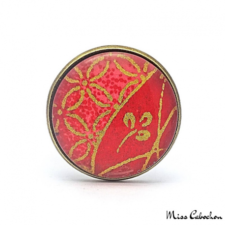 Asian jewelry - Cabochon ring