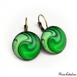 """Romancing the Stone"" earrings"