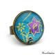 Turquoise ring - Japanese inspiration