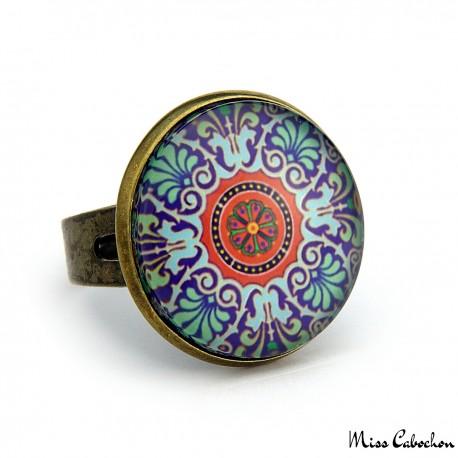 """Ring """"Ceramic 18th century"""""""