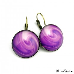 """The Color Purple"" earrings"
