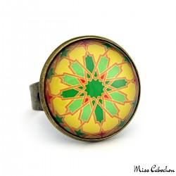 "Ring ""Arab mosaic"""