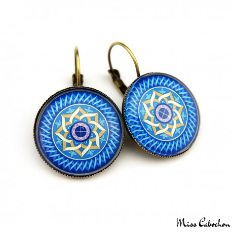 "Drop earrings ""Mosque dome"""