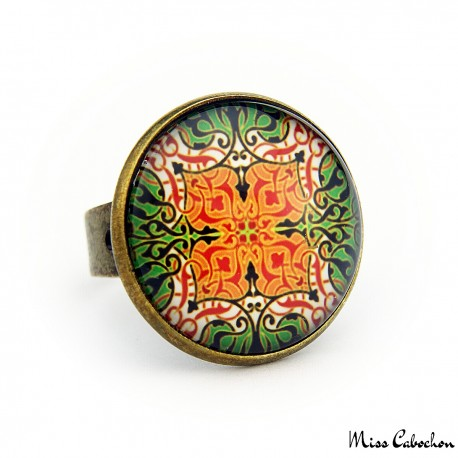 "Ring ""Elegant arabesque"""