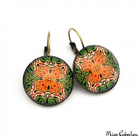 "Earrings ""Elegant arabesque"""