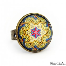 "Bague ""Arabesque persique"""