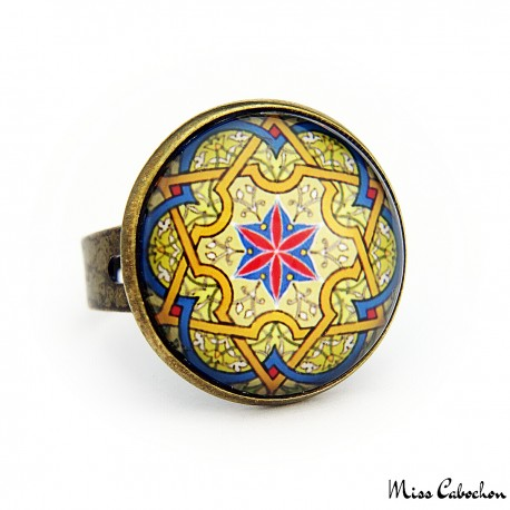 """Persian arabesque"" ring"