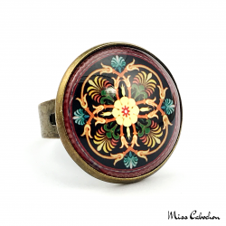 """Arabesque"" ring"