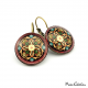 """Arabesque"" earrings"