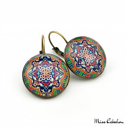 "Drop earrings ""Arabesque"""
