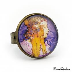 "Ring ""Byzantine"" - Art Nouveau collection"