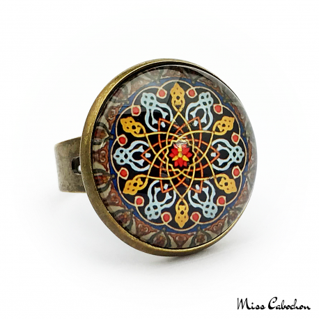 """Persian patterns"" ring"