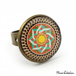 Bague à motifs arabo-hispaniques