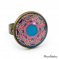 Arabic patterns ring