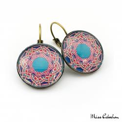 Arabic patterns earrings