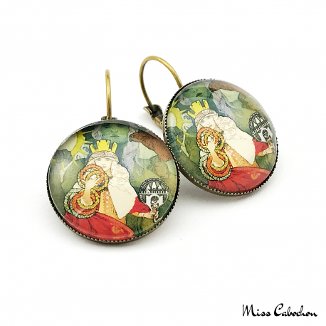 1920s style earrings - Sokol Festival