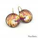 Boucles d'oreille - Style Art Nouveau