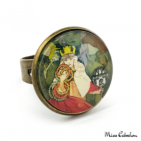 1920s ring - Art Nouveau collection