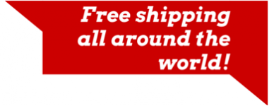 Free shipping all around the world!
